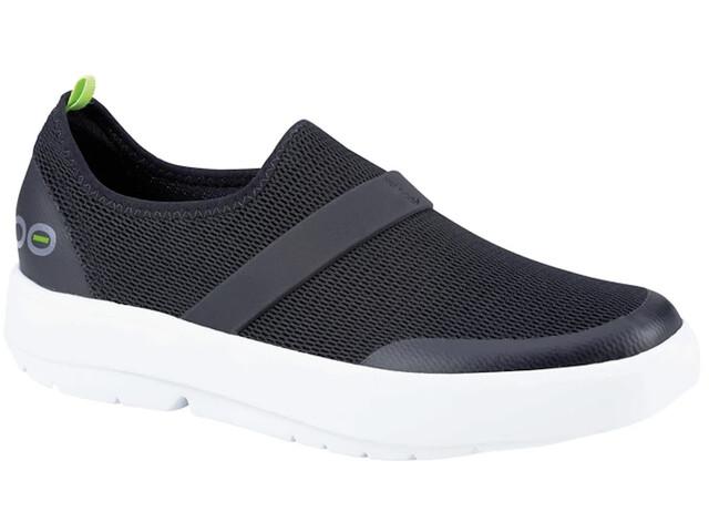 OOFOS OOmg Low Shoes Women, zwart/wit